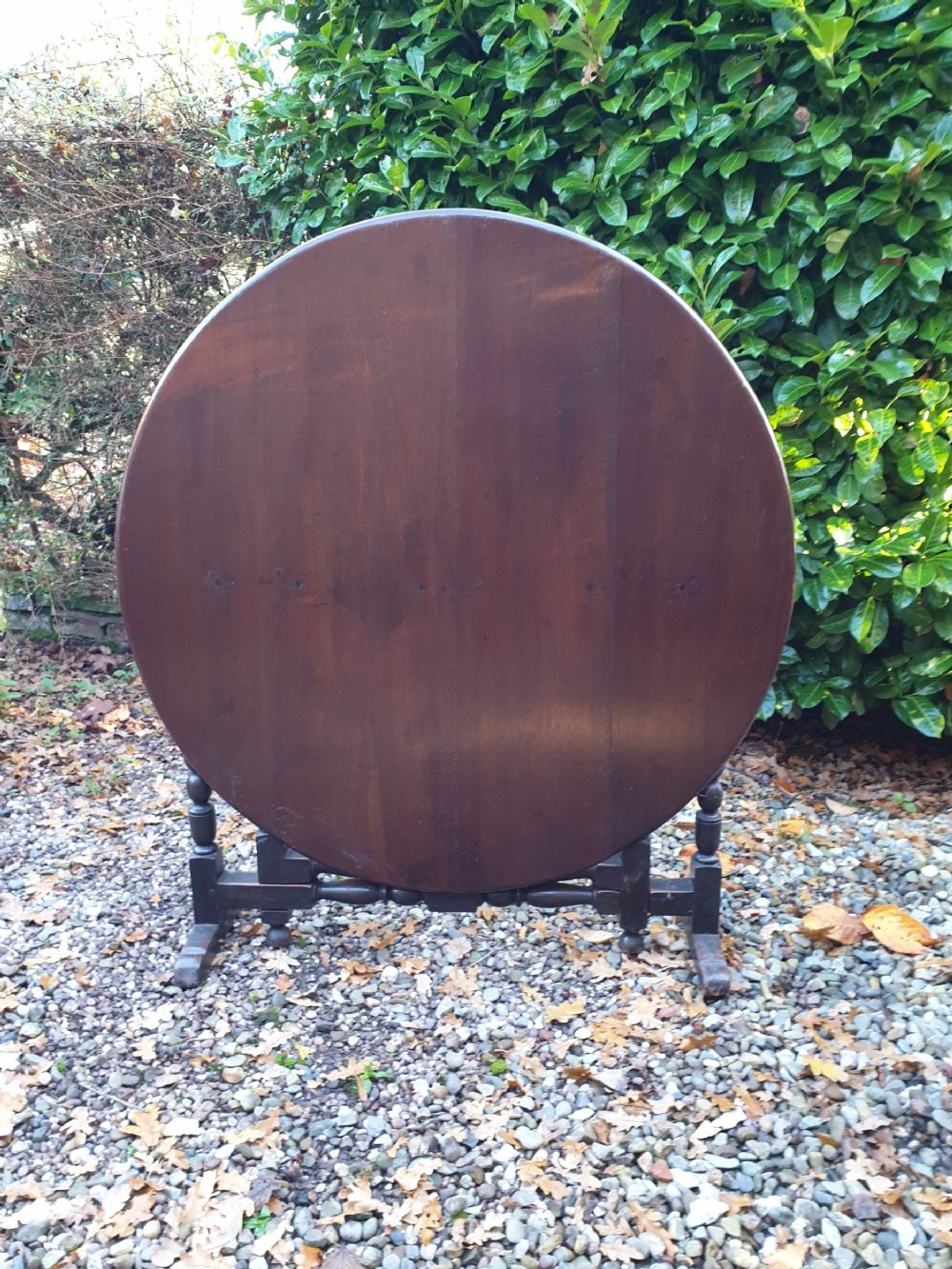 a super large french fruitwood wine tasting table vendange 18thcentury